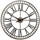 Chaney Metal Wall Clock