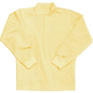 Generic Toddlers' Long-Sleeve Pique Polo Shirt