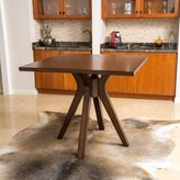 Christopher Knight Home Tehama Square Counter Height Wood Mid-century Style Dining Table (ONLY)