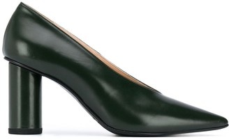 Christian Wijnants Pointed-Toe Leather Heels