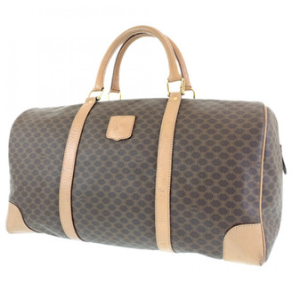 Celine Brown Synthetic Travel bags