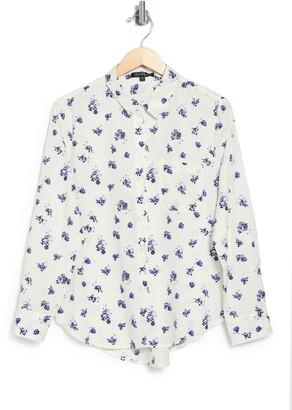 Velvet Heart Lynora Long Sleeve Button Down Shirt