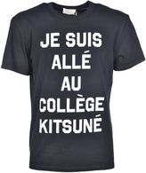 Kitsune Maison College T-shirt