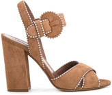 Tabitha Simmons Andres sandals - women - Suede - 37.5