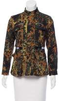 Rachel Comey Camouflage Print Zip-Up jacket