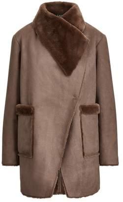 Ralph Lauren Faux-Shearling Coat