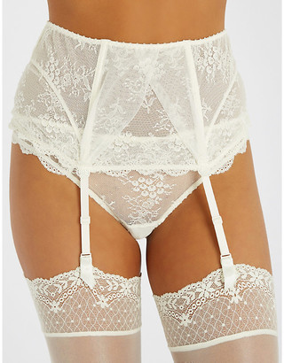 Aubade LAmour lace suspender belt
