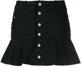 Diesel Flared Mini Skirt