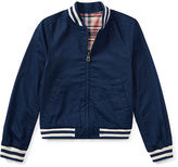 Ralph Lauren 7-16 Reversible Baseball Jacket