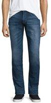 Hudson Blake Vortex Slim-Straight Jeans, Dark Blue