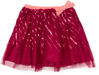 Billieblush Bow Mesh Skirt