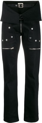 Zilver Denim Aviator Trousers