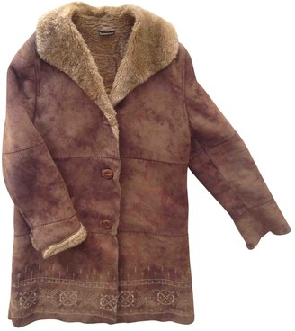 N. Non Signé / Unsigned Non Signe / Unsigned \N Camel Synthetic Jackets