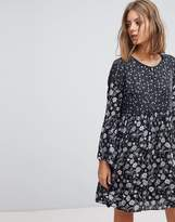 Esprit Mixed Print Smock Dress