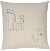 K Studio - 4 Person Family Plus Cat and Dog Pillow
