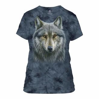The Mountain Warrior Wolf Women's T