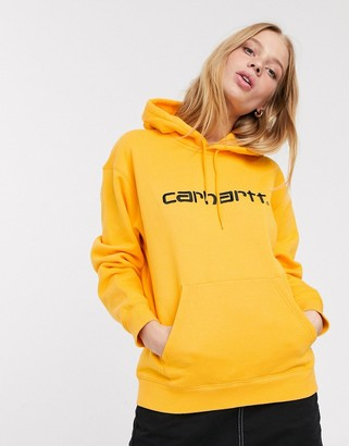 Carhartt WIP oversized hoodie with embroidered logo