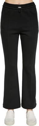 Moncler VINTAGE COTTON BLEND SWEAT PANTS