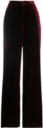 Etro Crushed Velvet Trousers