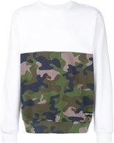 Les (Art)ists printed camouflage sweatshirt