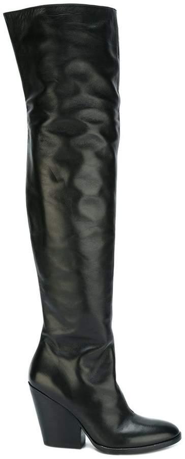 A.F.Vandevorst block-heel tall boots
