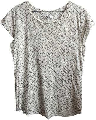 Shine White Cotton Top for Women