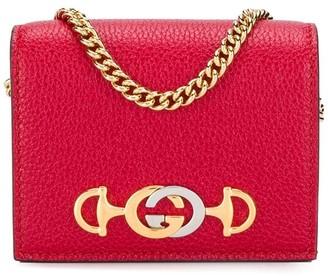 Gucci horsebit GG logo plaque wallet