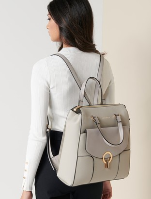 Forever New Heather Laptop Backpack - Grey - 00