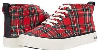 SeaVees Legend 90 Tartan Plaid Twill (Red Tartan Plaid) Women's Shoes