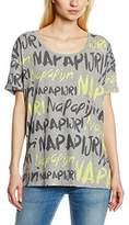 Napapijri Women's SKIPPER Short Sleeve T-Shirt,(Manufacturer size: )