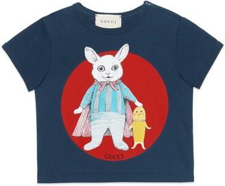 Gucci Baby Yuko Higuchi print cotton T-shirt