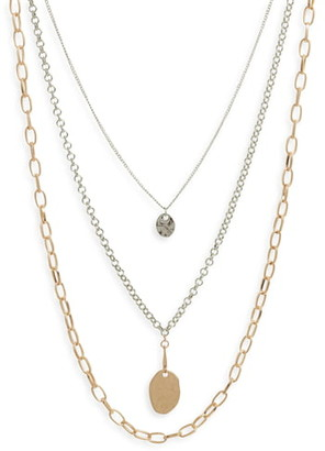 BP Triple Layer Necklace