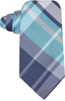 Ryan Seacrest Distinction Backlot Plaid Slim Tie