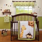 Little Bedding by NoJo® Jungle Pals Crib Bedding Collection