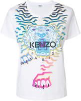 Kenzo Geo Tiger x Rainbow' T-shirt