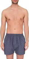 Sunspel Oval Shadow Cotton Boxer Shorts