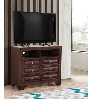 Darby Home Co Korsen Solid Wood 6 Drawer Double Dresser Shopstyle