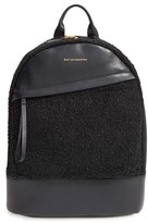 WANT Les Essentiels 'Piper' Wool & Leather Backpack - Black