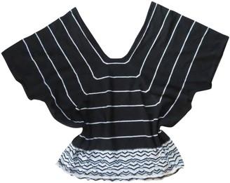 John Smedley Black Wool Top for Women