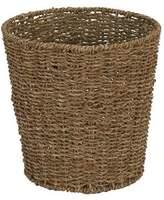 Household Essentials Seagrass Waste Basket