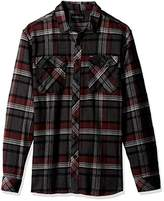 Rip Curl Men's Woolford Long Sleeve Flannel Shirt
