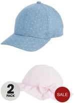 Very Girls 2 Pack Cap And Sunhat