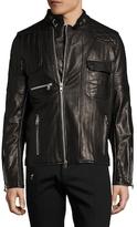 Diesel Black Gold Lunt Leather Jacket