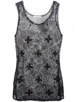 Chloé sleeveless crochet top