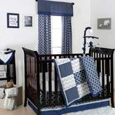 The Peanut Shell Geometry Crib Bedding Collection