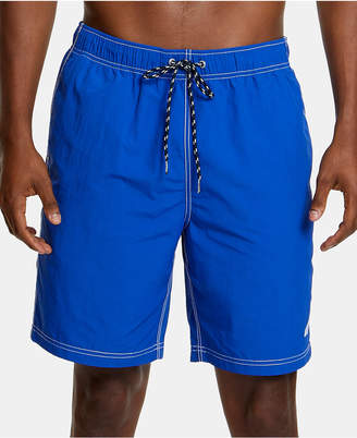 "Nautica Men Quick Dry Nylon 8"" Swim Trunks"