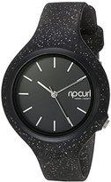 Rip Curl Women's 'Aurora' Quartz Plastic and Polyurethane Sport Watch, Color:Black (Model: A2975G-NVA)