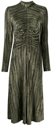 Stine Goya Asher velvet midi dress