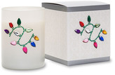 Primal Elements Xmas Lights White Icon Candle