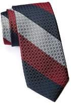 Ben Sherman Howard Bar Stripe Silk Tie
